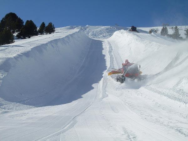 La Molina inagurará mañana su espectacular Pipe y la pista de Boardercross
