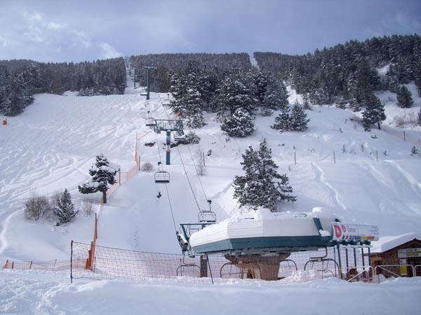 Nevada de la década en Andorra