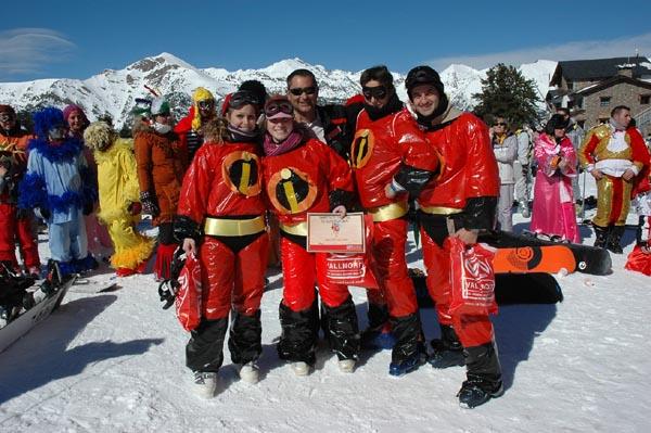 Disfrazate y esquia gratis en Vallnord