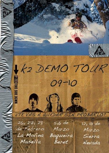 K2 Demo Tour
