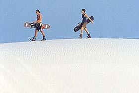 Sandboarding en Sudáfrica