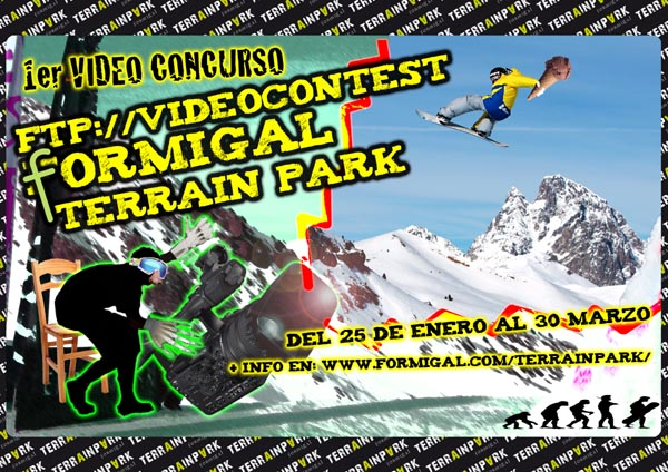 Haz tu video de Formigal y si resultas ganador llevate un forfait de temporada