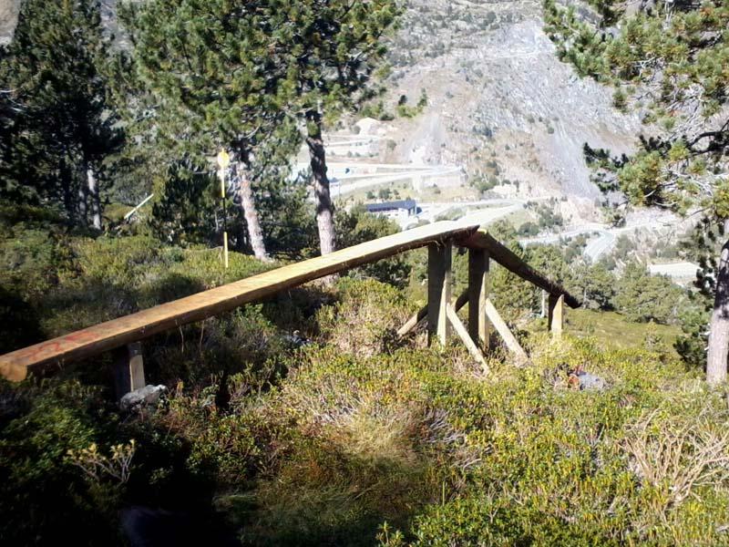 Nuevo woodpark en Arcalís