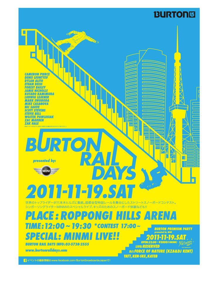 Tokio Burton Rail Days