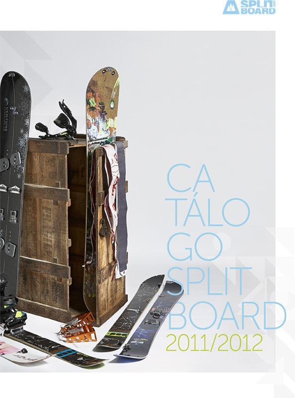 ¡Primer catálogo de splitboard de la historia!