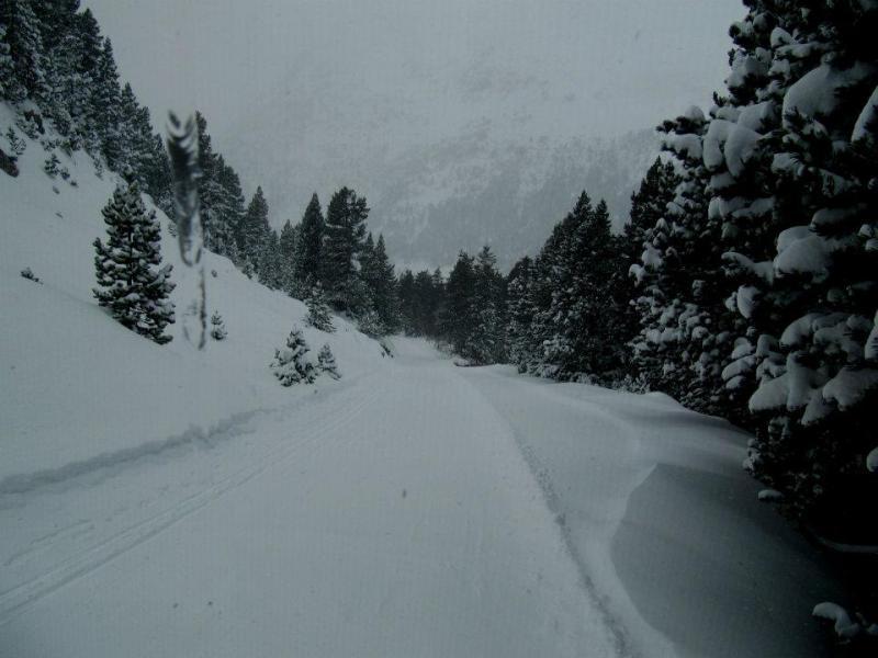 Llega la nieve al Pirineo