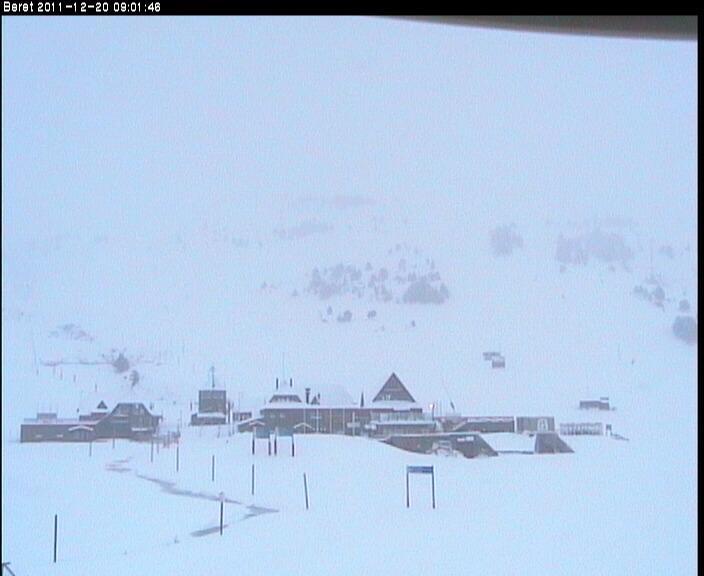 Gracias a las últimas nevadas la estación inaugura la temporada hoy día 20 de diciembre con la apertura del área de Baqueira.