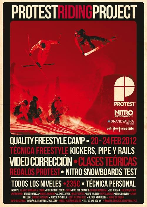 Freestyle camp PROTEST RIDING PROJECT
