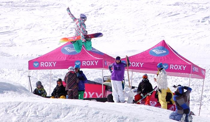 ROXY Snowcamp 2012 en Sierra Nevada