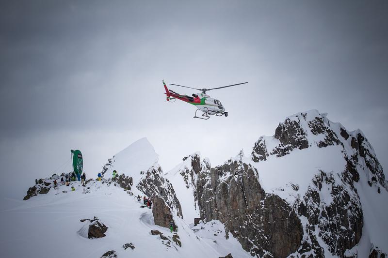 Durante estos días se celebra en Chamonix(FR) la prueba del circuito Freeride World Tour.