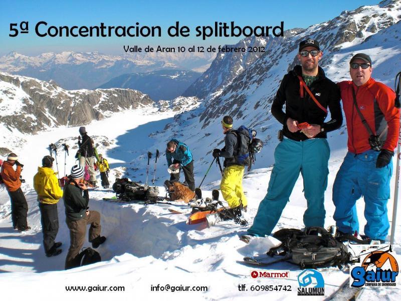 5ª CONCENTRACIÓN DE SPLITBOARD Valle de Arán