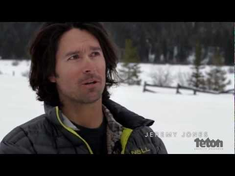 Splitboarding en Austria con Jeremy Jones
