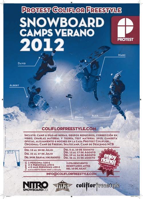 Protest presenta su snow camp para este verano