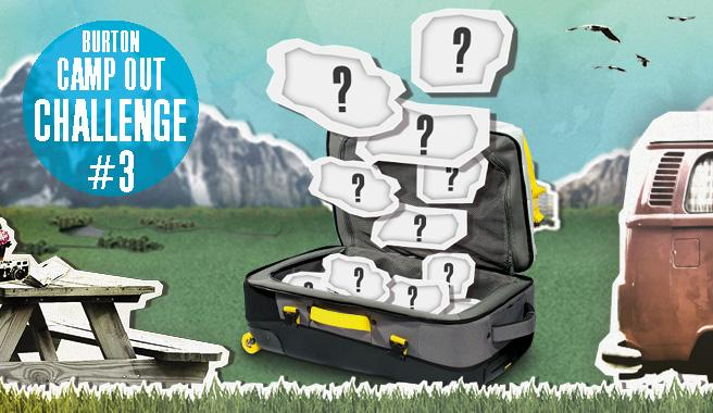 Participa en el concurso Burton Camp Out