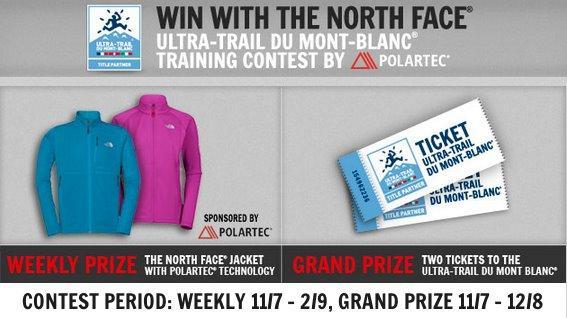 Gana una chaqueta North Face o unas plazas en el famoso Mont-Blanc ultra-trail con este concurso organizado por Polartec.