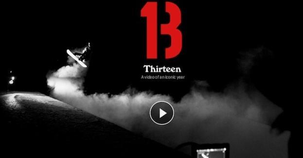 """Para pasar el calor os traemos este el tráiler de presentación de la película de Burton para la próxima temporada """"13"""". La compañía americana pone toda la carne en el asador reuniendo a los mejores riders de su team en localizaciones alucinantes."""