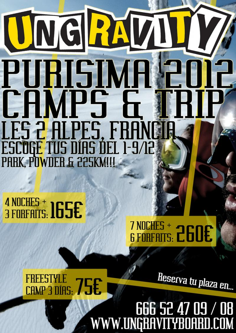 UNGRAVITY PURISSIMA CAMPS 2012