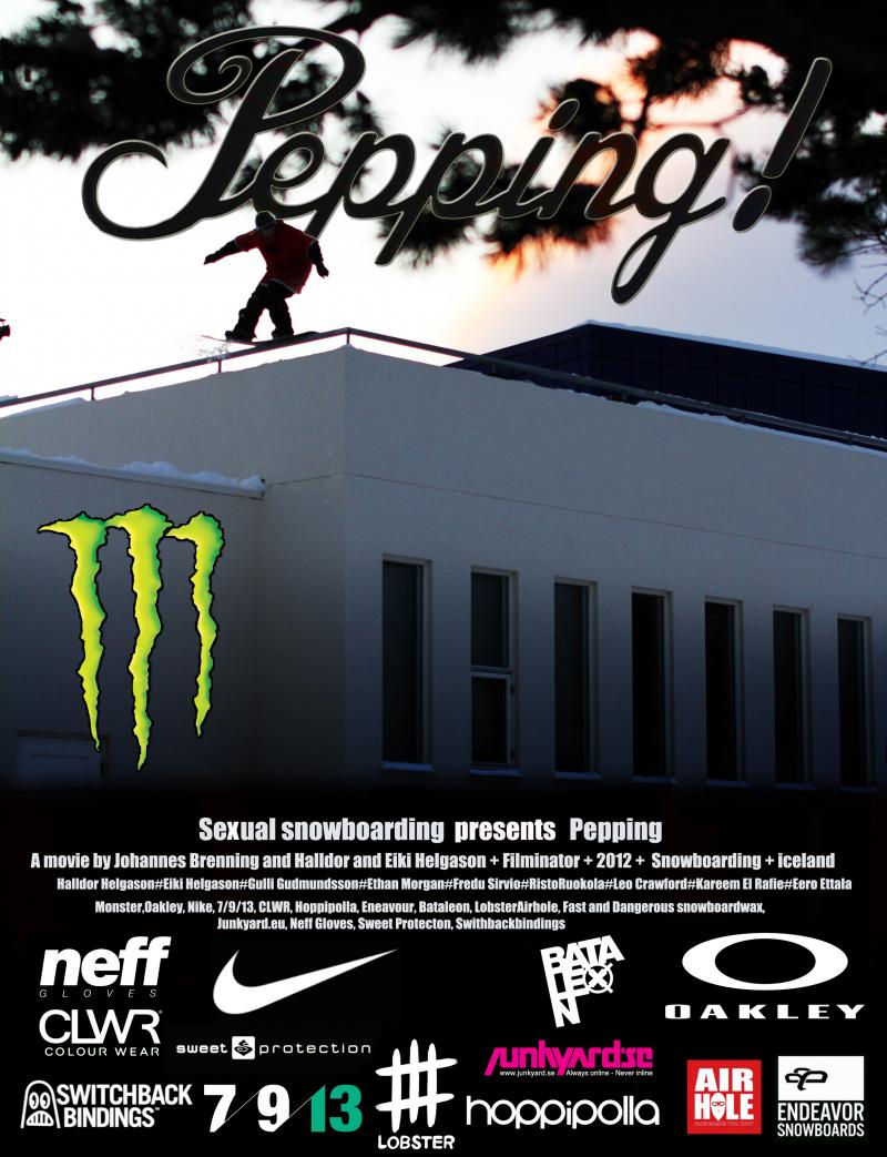 Peeping! snowboard free movie