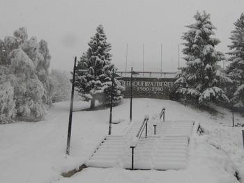 La intensa nevada en Baqueira Beret garantiza la apertura de la estación el sábado 1 de diciembre.