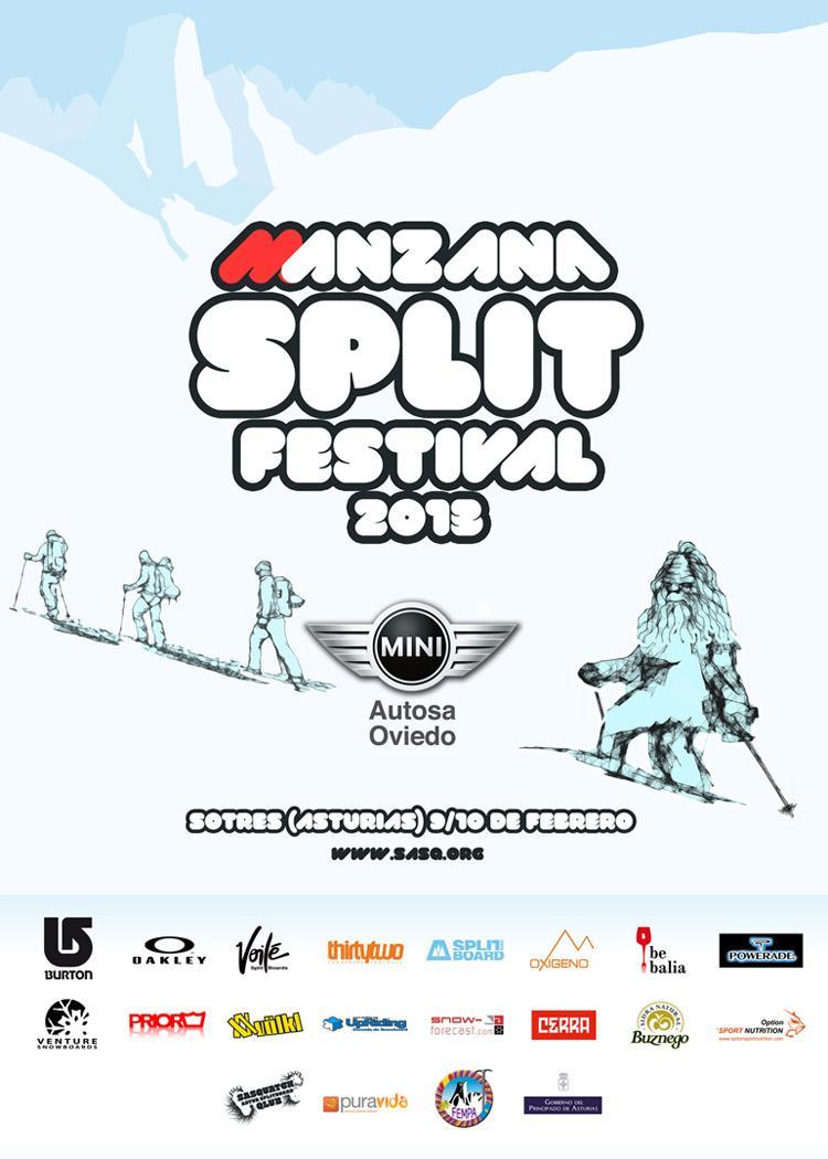 ManzanaSplitFestival2013, splitboard en Asturias