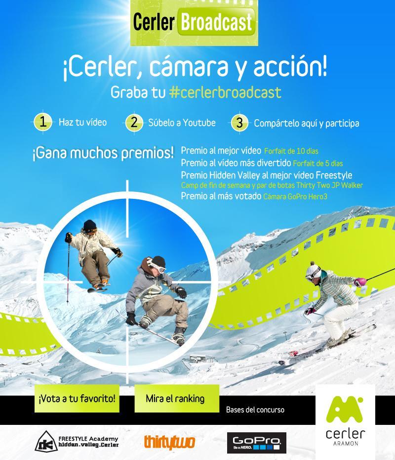 Aramón Cerler presenta un concurso de vídeos on-line