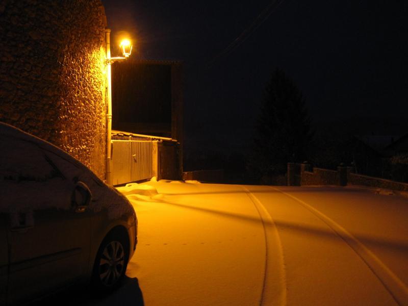 Ligera nevada