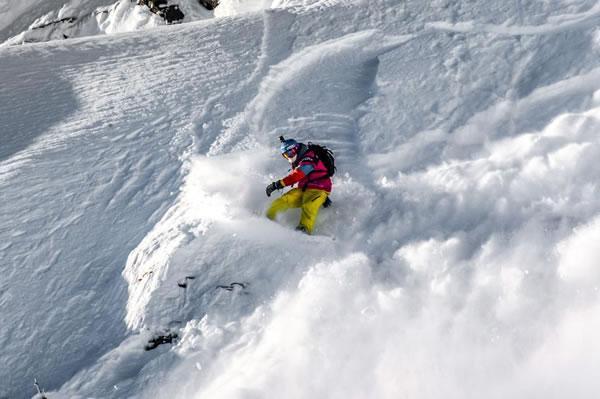Clasificación del FWT en Chamonix