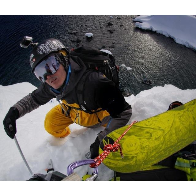 Descensos extremos en la Antártida, de la mano de Xavier De Le Rue y Lucas DeBari.