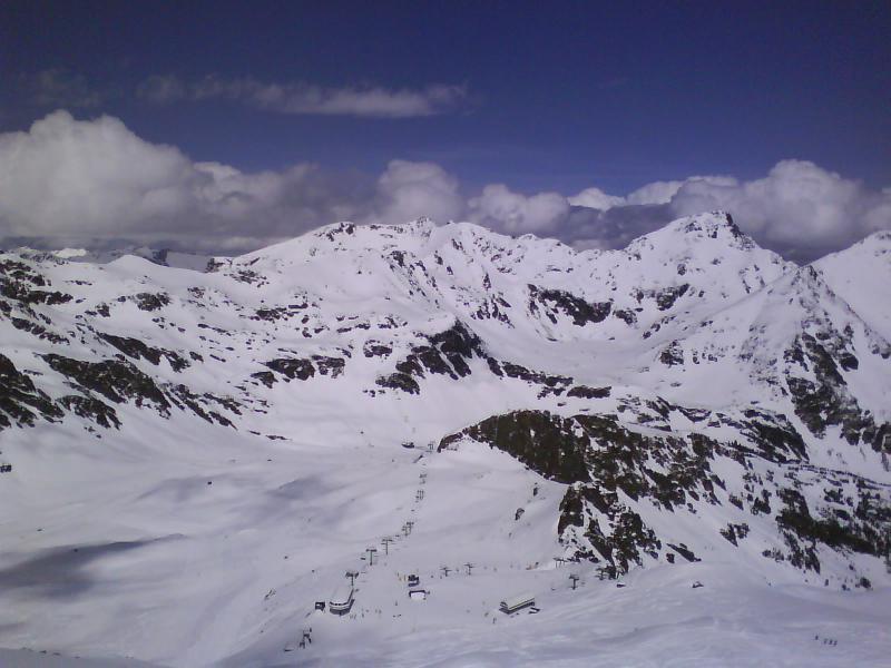 La Coma de Arcalís, Abril del 2009