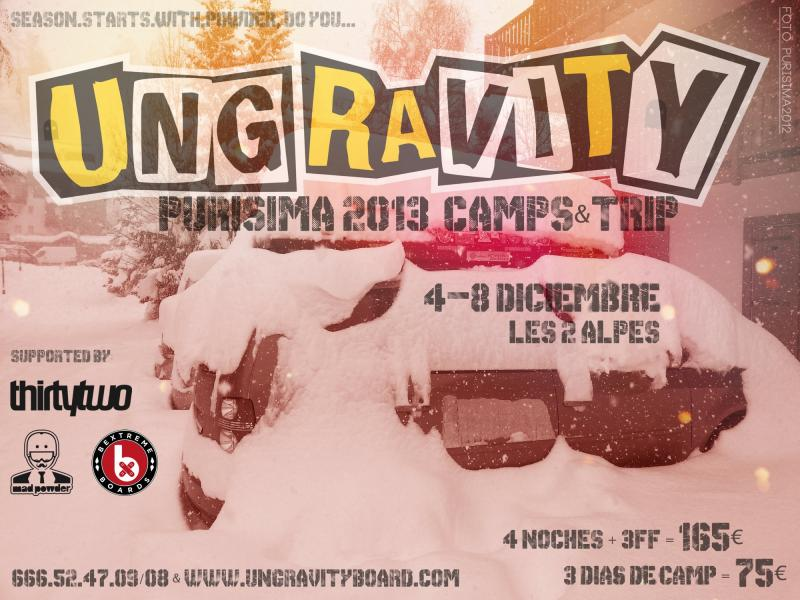 Ungravity PURISIMA Camps & Trip 2013
