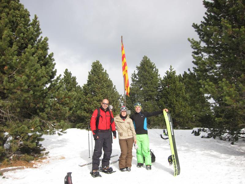 Cima del Pedró, 2.077 metros