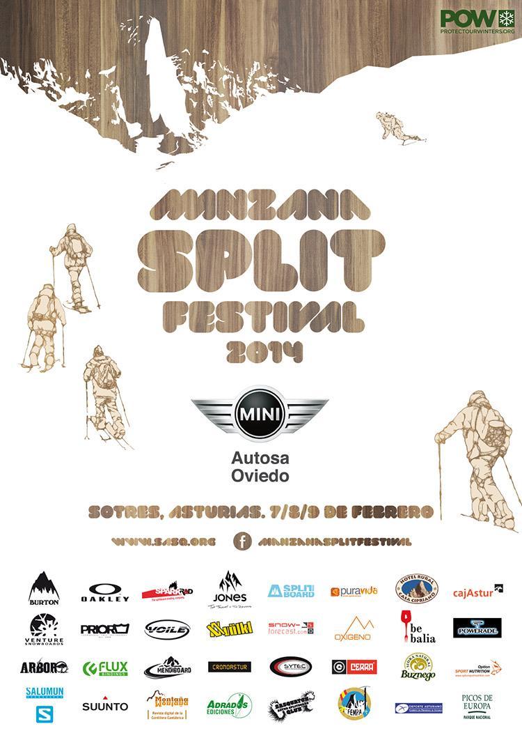 Los días 7, 8  y 9 de Febrero se celebrará en Sotres (Asturias) la segunda edición del festival de splitboard.