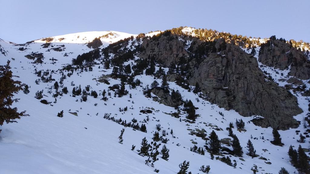 ladera sureste Font-Freda