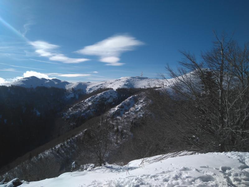 Cara norte del Turó de lHome desde Les Agudes