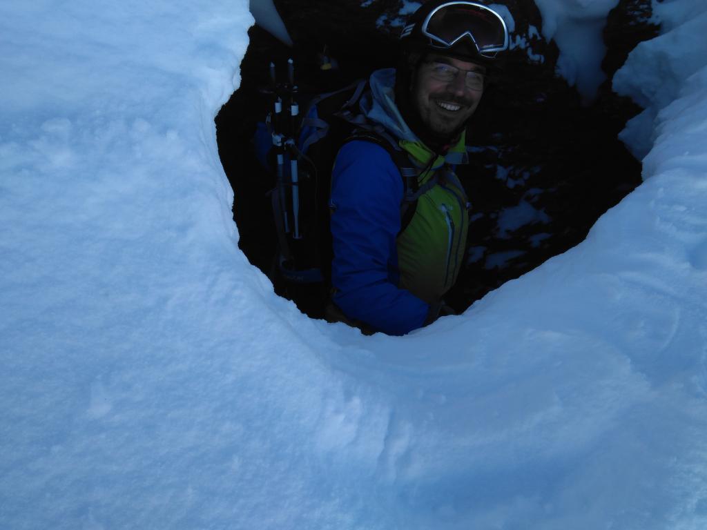Dentro del agujero