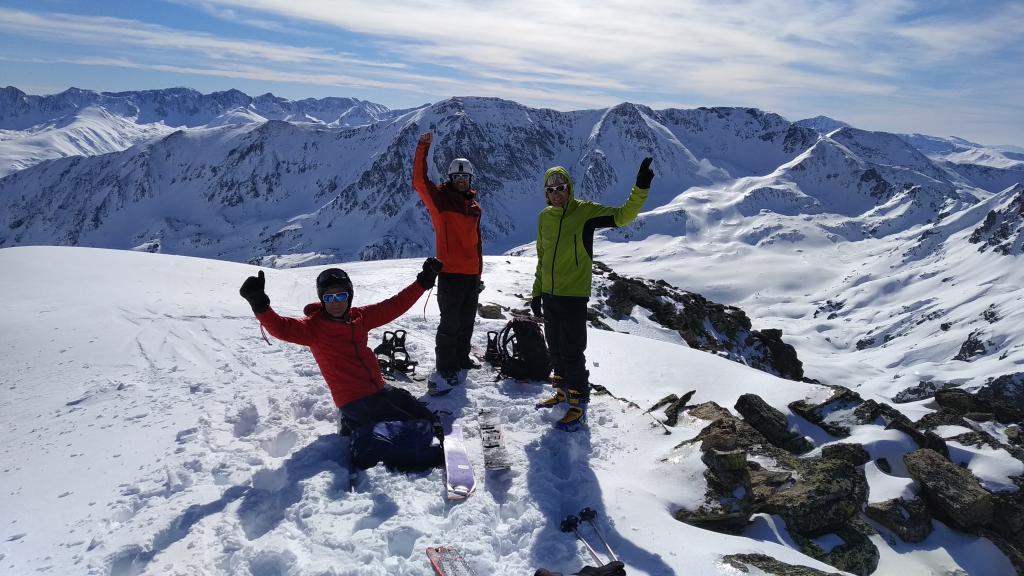 Cima del Pic de l`Albe 2.750 metros
