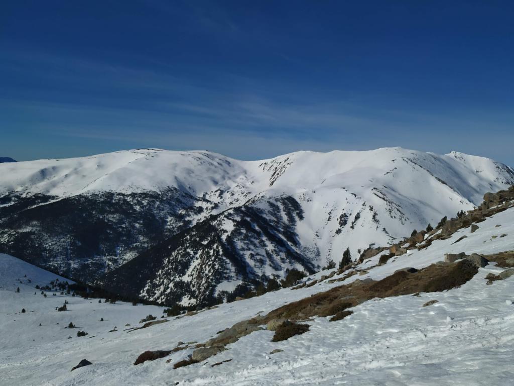 Cara este del pico Carabassa y el Bony del Manyer