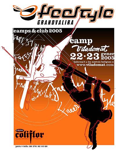 Viladomat y Coliflor organizan un Camp de Freestyle