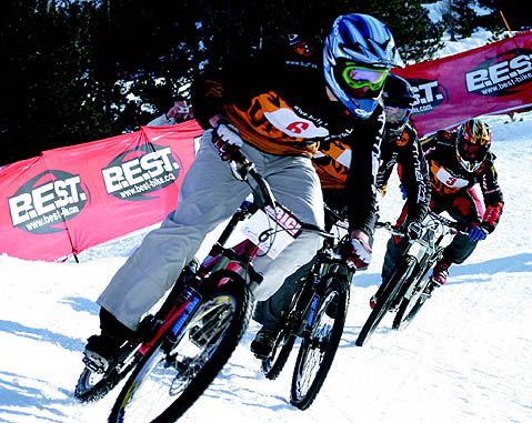 Vallnord Four Cross Snow-BTT