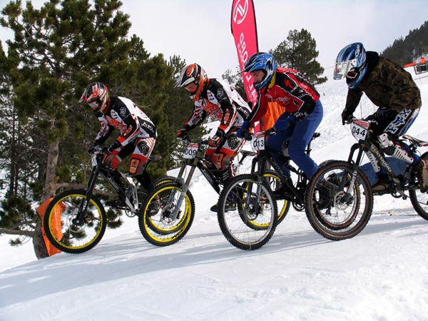 Resultados Vallnord Four Cross Snow BTT