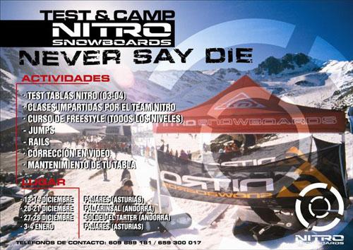 Novedades Snowboard Pajares 2003-2004