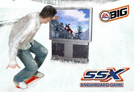 SSX Snowboard Game