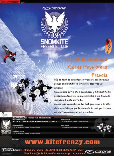 Snowkite Freeride Tour