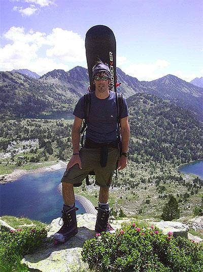 Xabi se une al blog de Snowboard Montaña