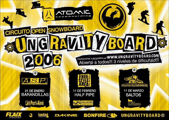 Open Snowboard Ungravityboard 06