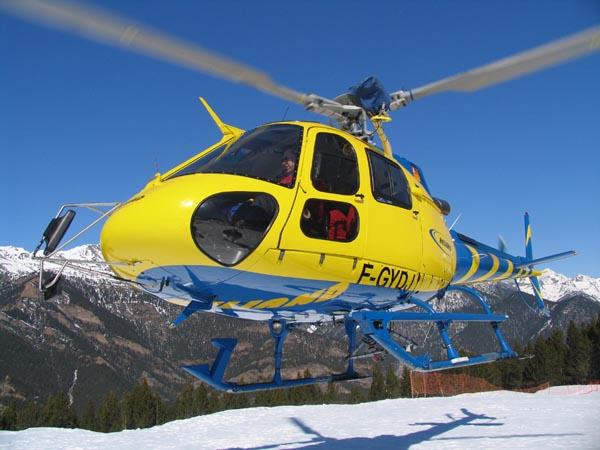 Ordino y Pal-Arinsal comunicados por helicóptero