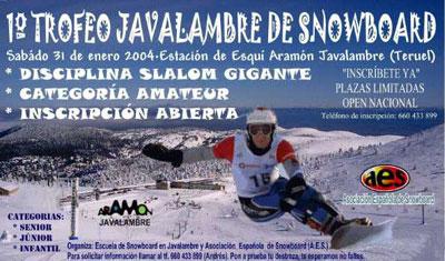 1 Trofeo Javalambre