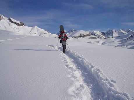 Snow y esquí de montaña en el Beuga Peirelum (I parte)