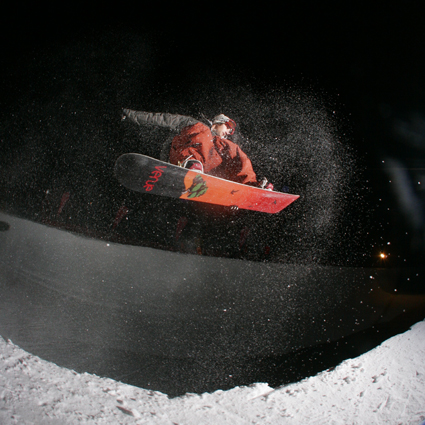 Night Session Ungravityboard en Vallnord