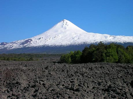 Snow de montaña en el Volcán Llaima (3121mts)